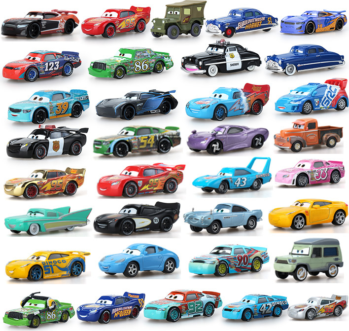 Disney Pixar Cars Frank And Tractor Diecast Toy Car For Girls Women Children Gifts Loose Modle New In Free Shipping 34 Style