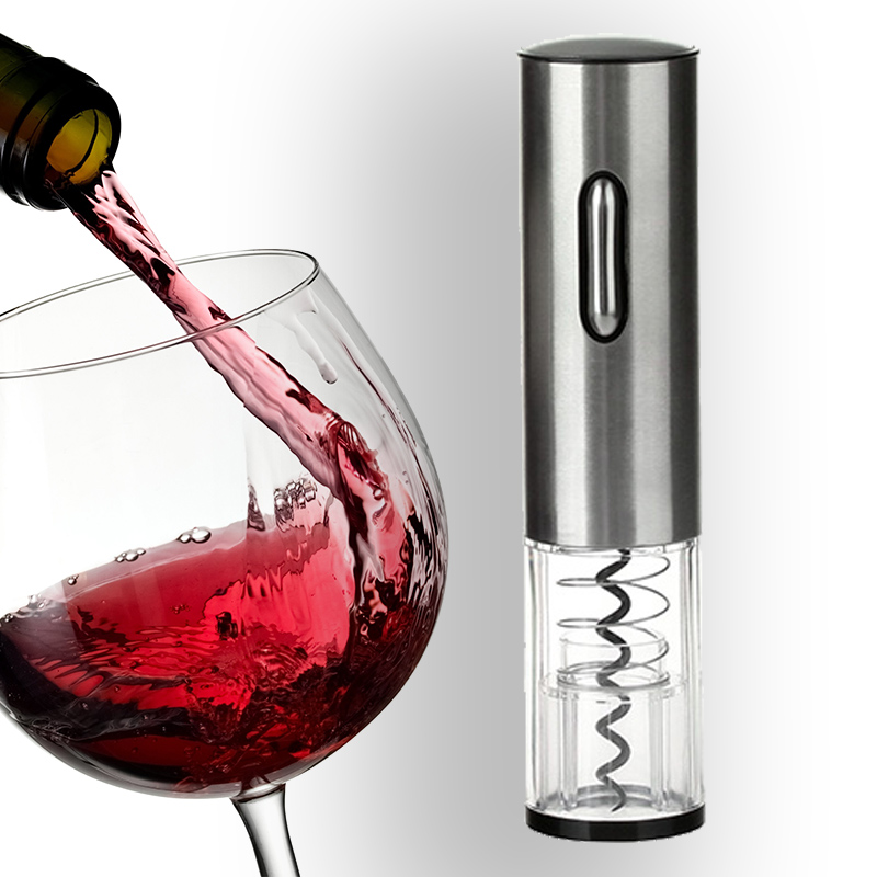 Fetoo Fashion Practical Red Wine Electric Opener With Foil Seal Cutter for Bar Party Home P50
