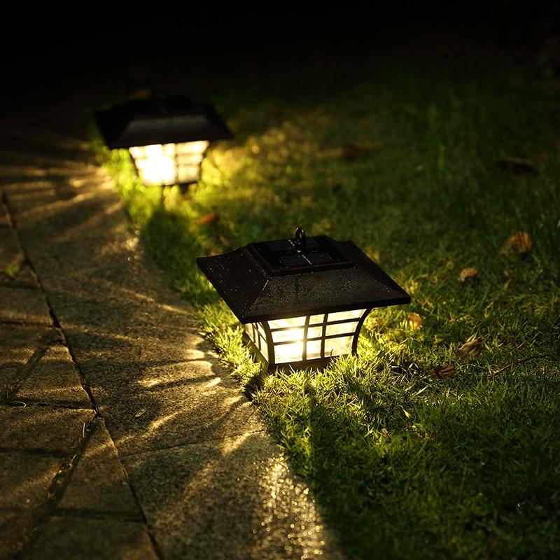 Solar Post cap Lamp Outdoor Lighting Wall Lamps Balcony LED Sconce Waterproof Garden Light Fixtures Sconce luz solar exterior luz casal cap roig