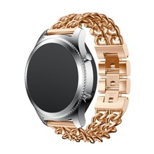 For Samsung Gear S3 Frontier Band,Steel Replacment Accessories Stainless Steel Wristband for Samsung Gear S3 Frontier Classic S