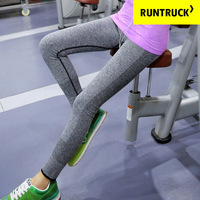 Spring and winter Yoga Pants high stretch thin nine minutes pants body fitness outdoor fast dry running pants pants