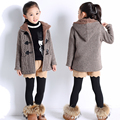 autumn winter children sweaters knitwear boys girls sweater kids sweaters Plus thick velvet knitted coat child clothes  L2049