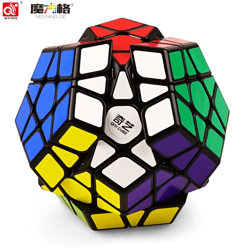 QIYI Megaminx Cube 5X5X5 Professional For Magic Cube 12 Sided Speed Fidget Cubes Puzzle Oyuncak Neo Cubo Magico Children Toy weipu sf12 waterproof connector 2pin m12 2 pin plug female socket male panel mount connector plug and socket