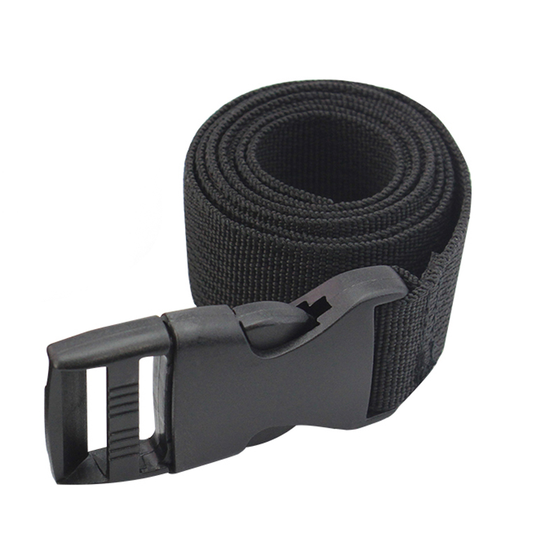 Military Tactical Adjustable Nylon   Belts   Hiking Climbing Load Bearing Utility Waistband Black Canvas   Belts