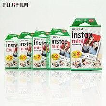 60/100 白シーツ本物の富士フイルムインスタックスミニ 9 フィルムミニ 8 9 7s 7c 70 90 25 共有SP 1 SP 2 liplayインスタントカメラ