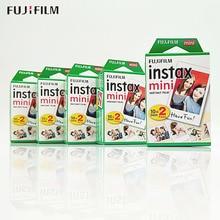 Película para cámara instantánea Fuji Instax Mini 9, 60/100 hojas blancas, original, para Mini 8 9 7s 7c 70 90 25 Share SP 1 Liplay