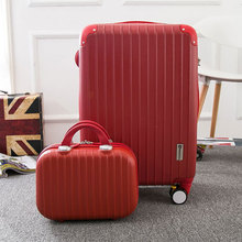 Wholesale!14 28inch large capacity travel luggage bags on universal wheels with rods,high quality abs pc trolley luggage bags