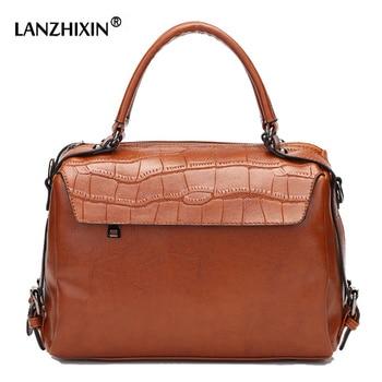 28e4db0e5e31 LANZHIXIN женские кожаные сумки женские сумки-мессенджеры женские сумки  Bolsa Feminina женские сумки с верхней ручкой сумки через плечо сумка 7194