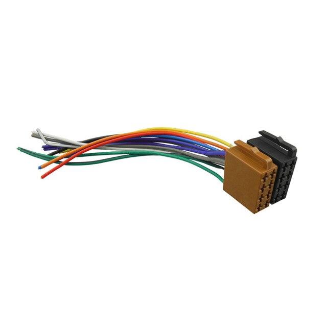 Universelle ISO Kabelbaum Auto Stereo Adapter Stecker Radio Draht ...