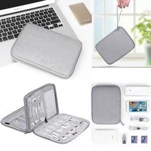 Electronics Accessories Organizer Travel Kit Case Pouch Sepa