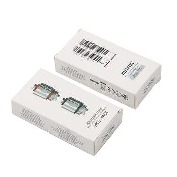 Justfog – Kit tête de bobine d'origine, 10 pièces/lot, noyau de reconditionnement 1,2 ohm 1,6 ohm adapté aux Cigarettes électroniques Justfog C14 Q14 Q16 P16A P14A