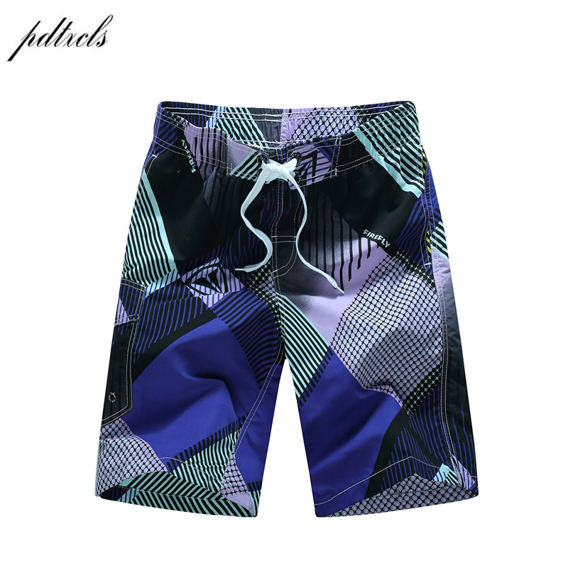 Summer Quick-drying   Board     Shorts   Trunks Mens Beach   Shorts   Fashion Printed Beach   Shorts   Bermuda MasculinaDe Marca Homme   Short