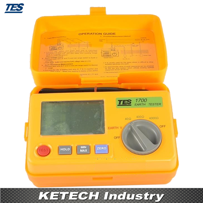 Testeur de terre numérique TES1700