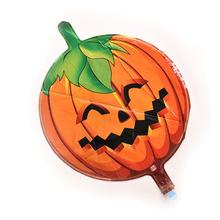 g halloween decorative high grade aluminum foil pumpkin headaluminum film balloon inflatable toys - Outdoor Inflatable Halloween Decorations