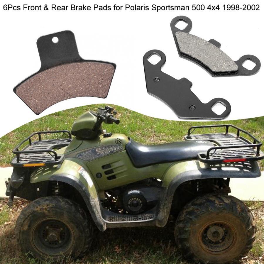 Rear Brake Pads Fits Polaris Sportsman 500 1998 1999 2000 2001 2002