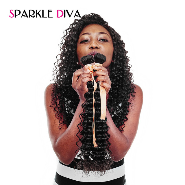 Sparkle diva hair malaysian deep wave hair weave bundles human sparkle diva hair malaysian deep wave hair weave bundles human hair extensions remy hair double weft pmusecretfo Images