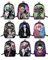 Suicide Squad / Harley Quinn Backpack For Unisex Children School Bags Boy Girls Backpacks Kids Schoolbag Student Shoulder Bag