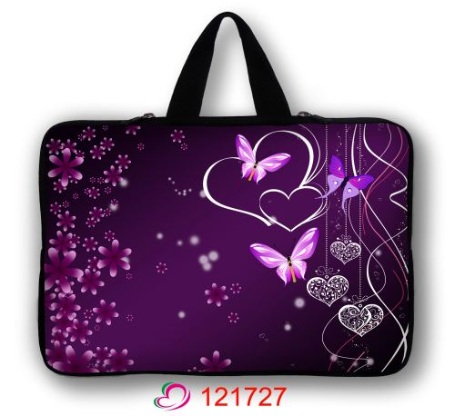 13 Hearts & Butterfly Laptop Sleeve Carry Bag Case For 13.3 Apple MacBook Pro/ Air/Sony