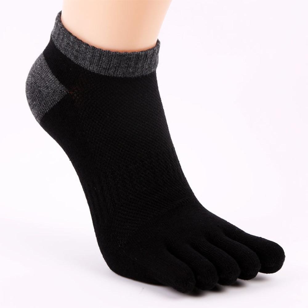 Men's socks Fashion Men Five Fingers Anti Slip Cotton Socks Comfortable Socks Calcetines Giving gifts Cotton socks
