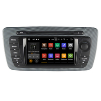Android 8.1 6.2 inch Capacitive Touch Screen Car DVD Player For Seat ibiza 2009 2013 with Can Bus Ipod 1080P RDS Radio 2G RAM