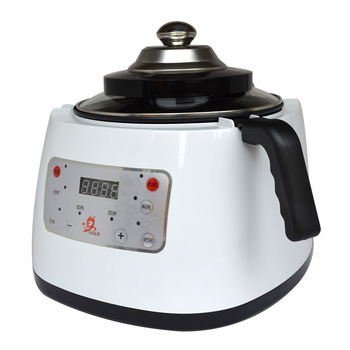DMWD 3.6L Household Automatic Intelligent Electric Cooker Vegetables Stir-fry Wok Food Braise Stew Pot 220V Kitchen Robot