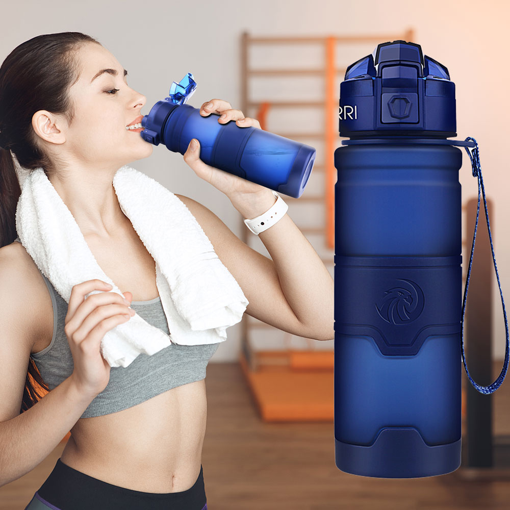Best Sport Water Bottle TRITAN Copolyester Plastic Material Bottle Fitness School Yoga For Kids/Adults Water Bottles With Filter|Water Bottles|   - AliExpress