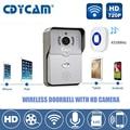 Smart door intercom 720P HD Video Doorbell WiFi Doorbell with Camera Night Version IR Motion Detection Alarm for IOS / Android