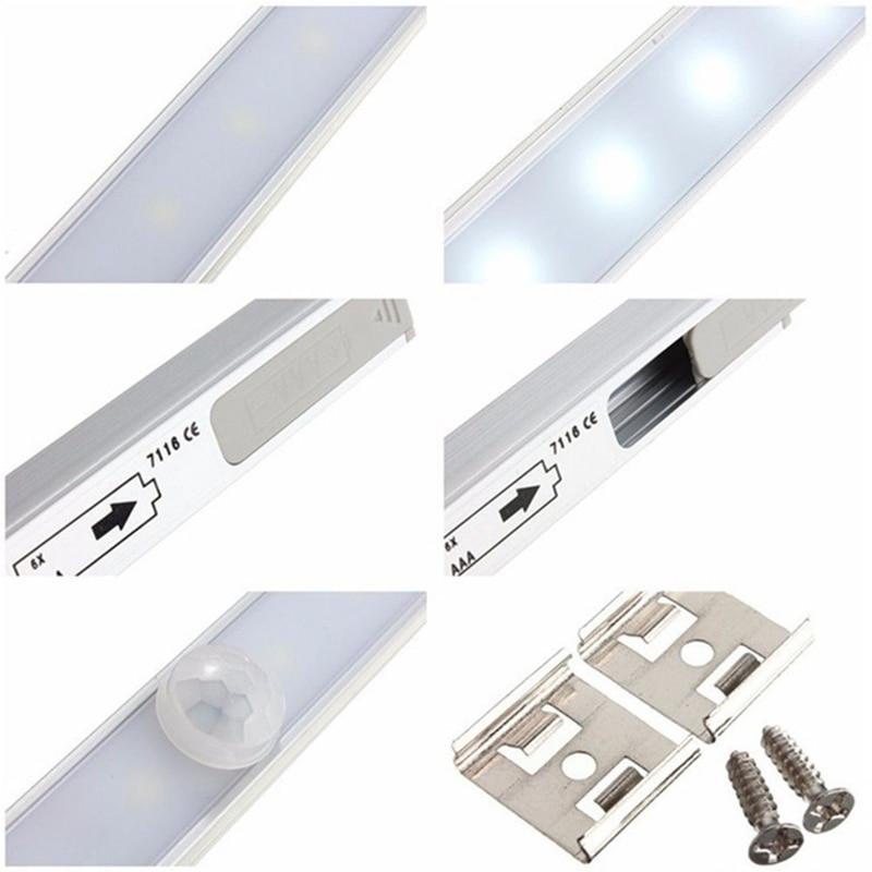Wireless 20 LED Motion sensor night light battery power 3