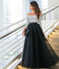 Moda Hanım Kapalı Omuz Dantel Tül Akşam Parti Maxi Elbise