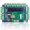 WGACCESS Marca 4 cartão de Controlador de porta de Acesso com TCP IP porta RJ45 & 4 leitores e bloqueios EM painel de controle de acesso