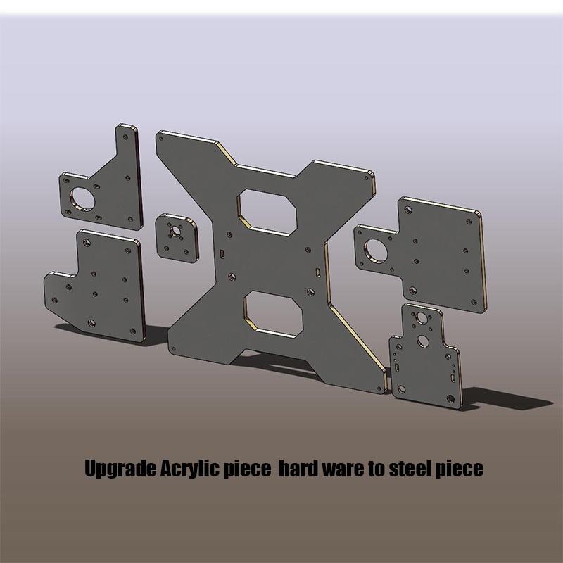 HE3D upgrade steel plate for EI3 DIY 3D printer