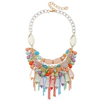 2015 Women S Fashion Jewelry Design New Han Edition Popular Color Turquoise Crystal Tassels Necklaces Pendants