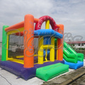 FREE SHIPPING BY SEA 6M*5.5M*3.5M Outdoor Inflatable Bouncer Jumping House Inflatable Toy With Inflatable Slide