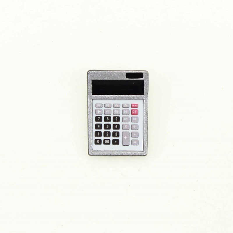 wholesale 1:12 dollhouse miniature Mini Calculator Model doll accessories toy for New collectible Gift