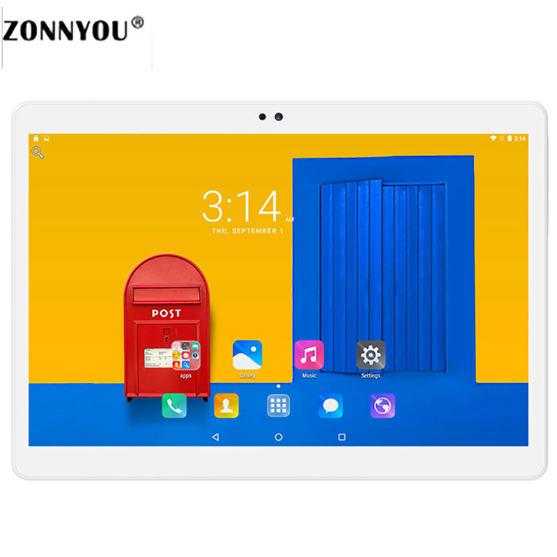 10 1inch Tablet PC Android 6 0 4GB 32GB ROM 3G Call Octa core GPS Bluetooth