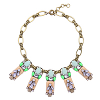 Costume Jewelry for Women Statement Vintage Necklace Multicolor Geometric Fashion Indian Chunky Necklace Collares