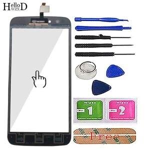 Image 3 - 5.5 ekran ekran dotykowy Panel dla Homtom HT50 HT 50 ekran dotykowy Digitizer przednia szybka z ekranem dotykowym czujnik narzędzie klej chusteczki