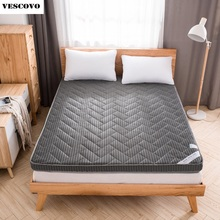 Mattress-Bed Tatami Spring Foam Bamboo-Fiber Folding Summer Student Dormitory-Mat And