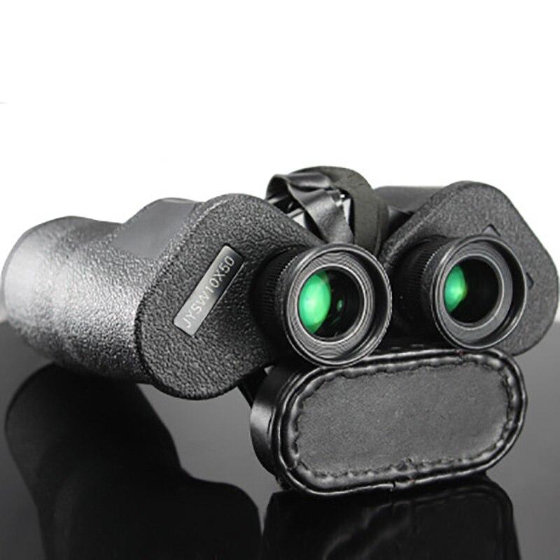 T98 типа 10X50 телескоп двойной tube HD военный стандарт низкой освещенности ночного видения с коробка из воловьей кожи Открытый охотничий Бинокл