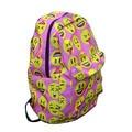 2016 Kids Cute Emoji Printing School Bags Children waterproof Backpacks For Teenager Girls Casual Women Laptop Mochila Feminina