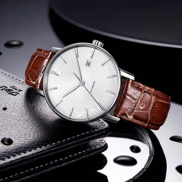 c751072ef Detail Feedback Questions about NEWEST Original Xiaomi TwentySeventeen Light  Mechanical Watch With Sapphire Surface And Leather Strap on Aliexpress.com  ...