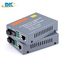 1pairt HTB-3100AB Media Converter Fiber Optical Transceiver Single 25km SC 10/100M Singlemode Single fiber optic converter цена и фото