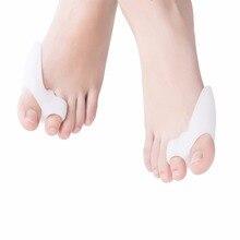 Деформация вальгусной деформации пальцев ног прибор силиконовая стелька разделитель пальцев ног