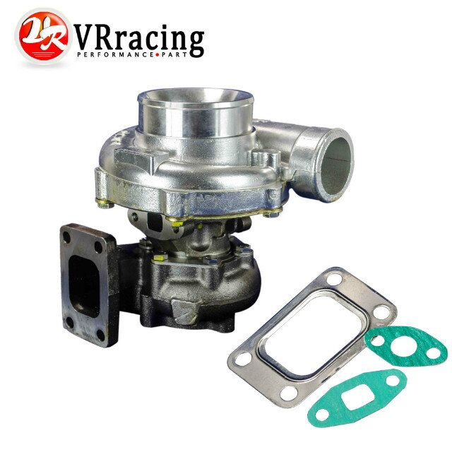 цена на VR RACING - GT35 Turbo charger A/R:.70 cold,.63 hot,t3 flange Turbocharger Horsepower rating: 300-500hp VR-TURBO44