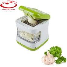 Hot sale garlic press crusher Mini Portable Garlic Press Chopper Hand Presser Grinder Multifunction Tool For Kitchen Gadgets