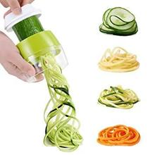 Handheld Spaghetti Vegetable Spiralizer Fruit Grater Spiral Slicer Salad Cutter Carrot Cucumber Maker