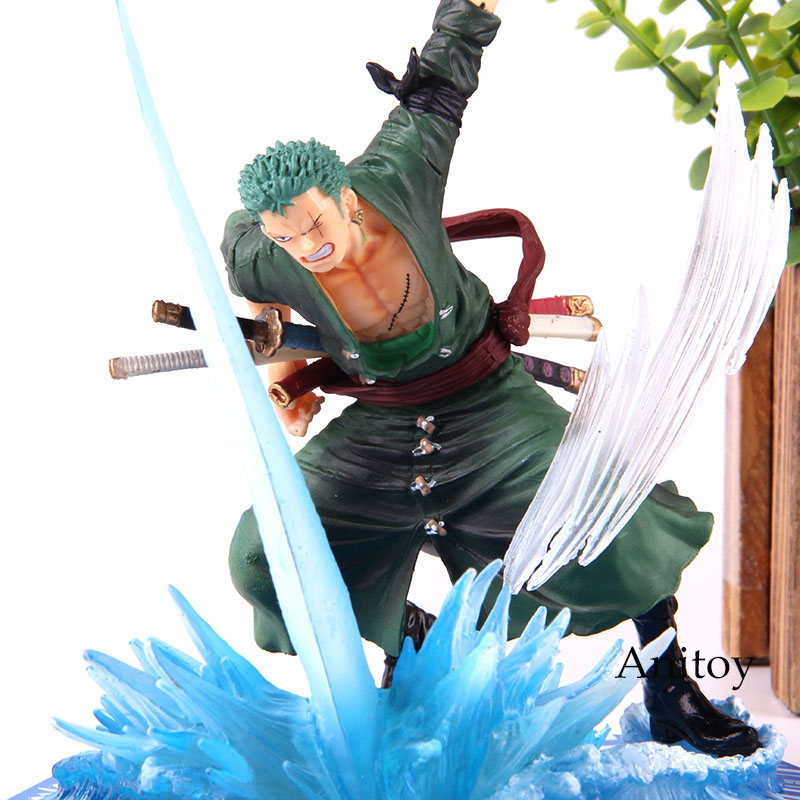 Anime Cosplay Action Figure PVC Roronoa Zoro One Piece Character Doll Decors