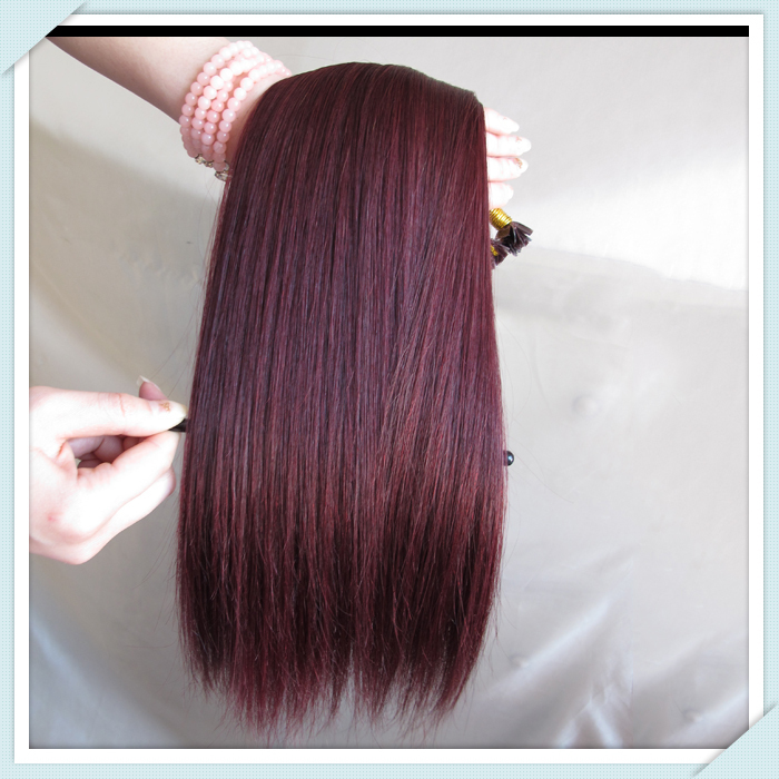 Aliexpress Buy 100 Indian Remy Human Hair Pre Bonded Hair