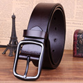 New Men's fashion belt brand genuine leather men belt buckle casual high quality ceintures homme