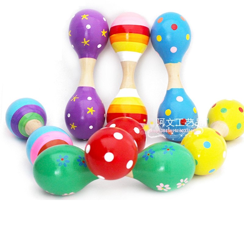Baby Toys & Hobbies Maracas Learning & Education Baby Toy Musical Instrument  Rod Bell